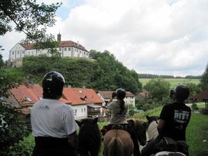 bei Schloss Altrandsberg vorbei...