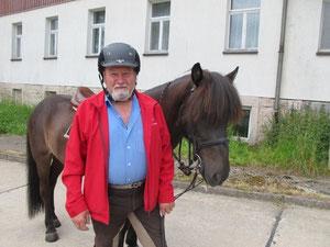 neu dabei ab heute: Res Bernhard aus der Schweiz