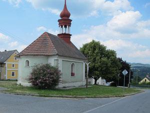 kleine Kirche mit Aussicht