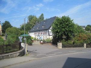 Fachwerk in Großolbersdorf