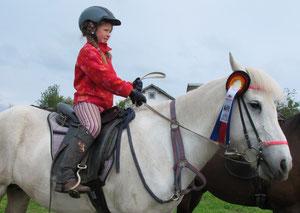 Annika ist mit 8 Jahren jetzt die jüngste Teilnehmerin!