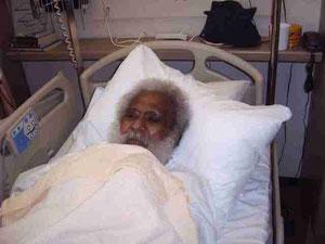 Ben Kafiar zoals wij hem voor het laats zagen in het UMC..
