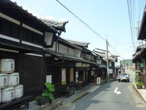 うだつのあがる家並(中津川宿)
