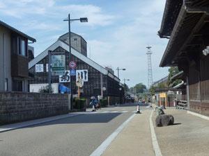 鵜沼宿のメインストリート