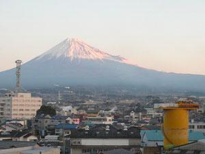 吉原の朝富士