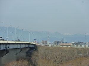 長良川を越える