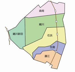 東浦の行政区