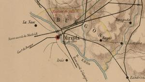 Plano de puntos fortificados (finales XIX)