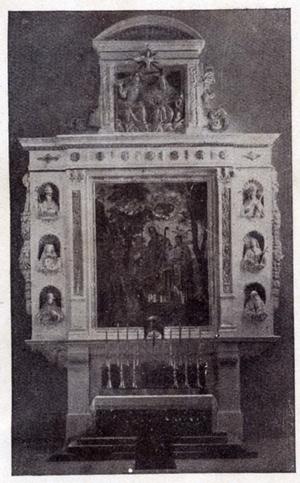 Altar der Kilianskirche aus der Zeit 1927 - 1945 - Danke an Harald Spiegel