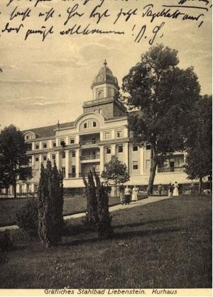 Hotel Kaiserhof 1925 - Repro W.Malek