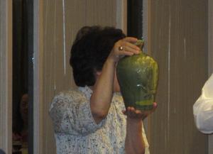 李登輝元総督から差し入れがあった30年物の紹興酒