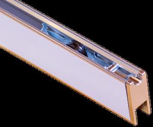 Schiebetürsystem auf Rollen für Terrarium