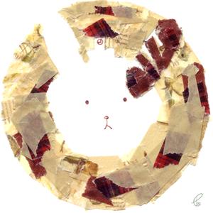 うさぎパン/COPIC MULTI LINER マスキングテープ 2012,6.27