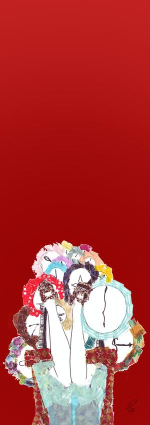 時計と逆さまアリス/COPIC MULTI LINER マスキングテープ 2012,7.8