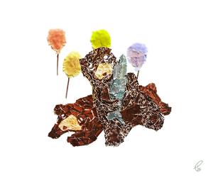 おやすみ/マスキングテープ PhotoshopCS6  2012,12.30