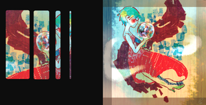 すべてを手に入れる/マスキングテープ SAI Illustrator 2012,5.30