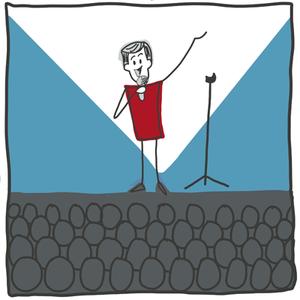 als Redner oder Musiker einen starken Auftritt