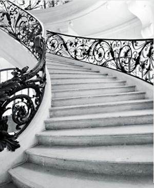 Escalier du Château de Serans