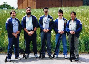 Marcel Zosso, Alfons Mauron, Roland Buntschu,                                        Fredy Huber, Ruedi Huber