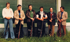 Gilbert, Rudolf, Anton, Martin, Paul, Niklaus