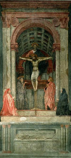La Trinidad. Masaccio,1427