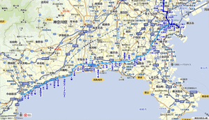 湘南電鉄 路線図