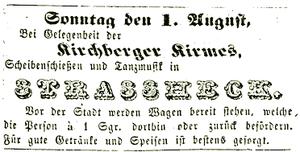 Hunsrücker Zeitung, 27. Juli 1852