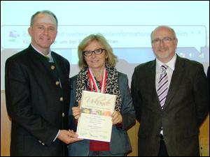 LR Sepp Eisl, Dr. Karoline Greimel, Ing. Sepp Niklas