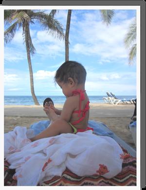 ハイチのビーチ^^♪