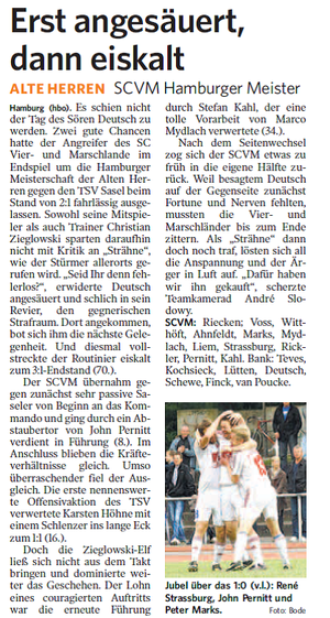 aus der Bergedorfer Zeitung