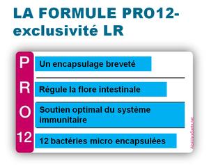 PRO12 Les pro biotiques sont des micro-organismes vivants qui peuplent notre système digestif . Probiotiques PRO12 vers une santé plus solide, le centre de notre santé se trouve au niveau du ventre - Aloe Vera Santé Beauté - LR Health and Beauty