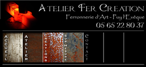 atelier fer creation