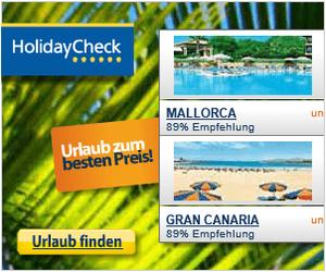 Rail & Fly HolidayCheck