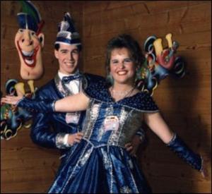 Prinzenpaar 1998 Stephanie I. & Stefan I.