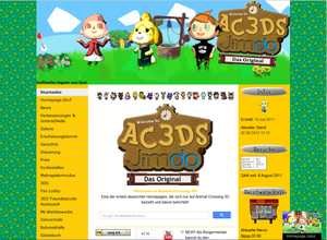 Animal Crossing 3D
