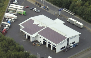 Taller mecánico de camiones VOLVO, Ransbach-Baumbach, Alemania