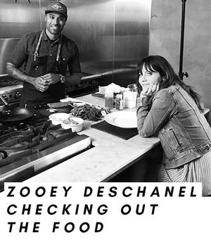 """Zooey Deschanel für ihre neue Show """"Your Food`s Roots"""""""