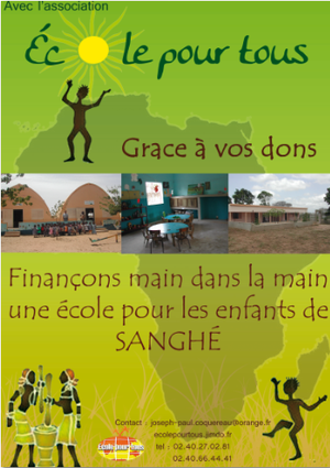 Affiche de l'association Ecole Pour Tous