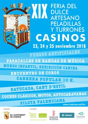 Feria de Casinos: Feria del Dulce Astesano, Peladillas y Turrones 2015 Programa