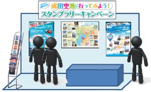 成田空港PRブースイメージ