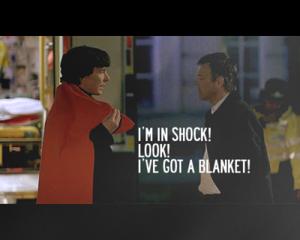 Sherlock et sa couverture...