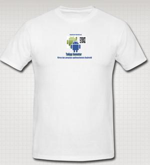Camiseta promocional de TuAppInventor
