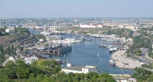 do ischt o die russische Schwarzmeerflotte stationiert