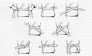 Comment nouer sa ceinture. - Aikido Billom ce226fca268