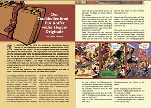 Digedon Heft Nr. 16, November 2019, Cover Jan Suski, Digedags, MOSAIK Hannes Hegen
