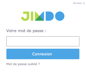 Comment se connecter à son site Jimdo?