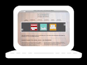 Homepage Kleinbach