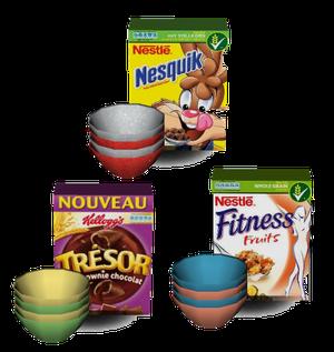 bols et céréales
