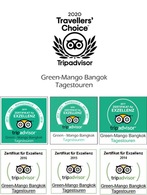Green-Mango Bangkok Touren - Tripadvisor Award: Travellers' Choice 2020