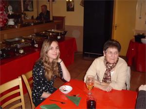 dazwischen liegen 50 Jahre; unsere Nina Lipka und Ellen Wilczek